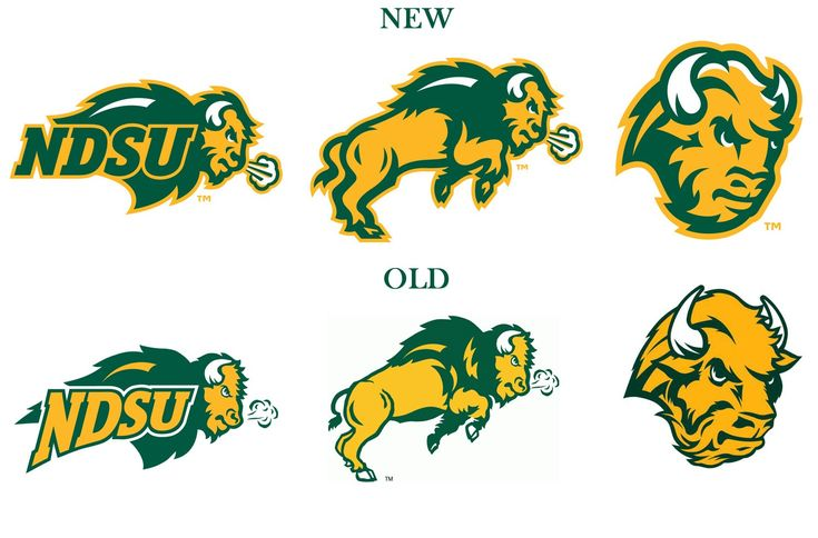 North Dakota State Bison Logo | North Dakota State University Bison - Sports Logos - Chris Creamer's ...