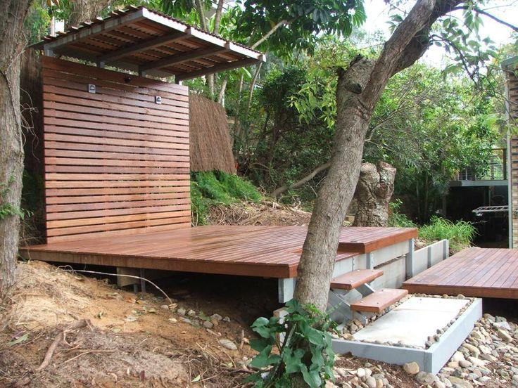 Timber Decks Inspiration - QC Landscaping - Australia   hipages.com.au