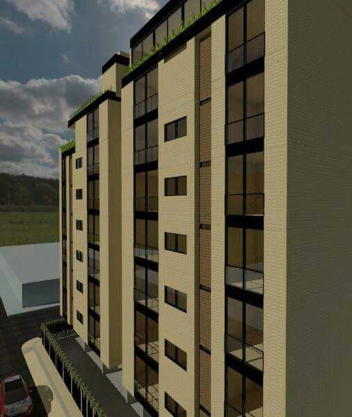 Edificio multifamiliar la ceiba. 3d/ yanelly - render/ nataly.