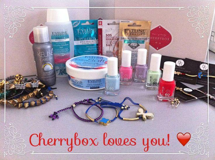 It's a brand new day sweeties! Cherrybox loves you! Για να σας κάνουμε ακόμη πιο χαρούμενες, για δείτε τι έχουμε για εσάς: Για όλες τις αγορές σας άνω των 40€, σας κάνουμε #δώρο προϊόντα αξίας έως και 20€!! Η προσφορά αυτή ισχύει από 28 Απριλίου έως 5 Μαϊου 2014.