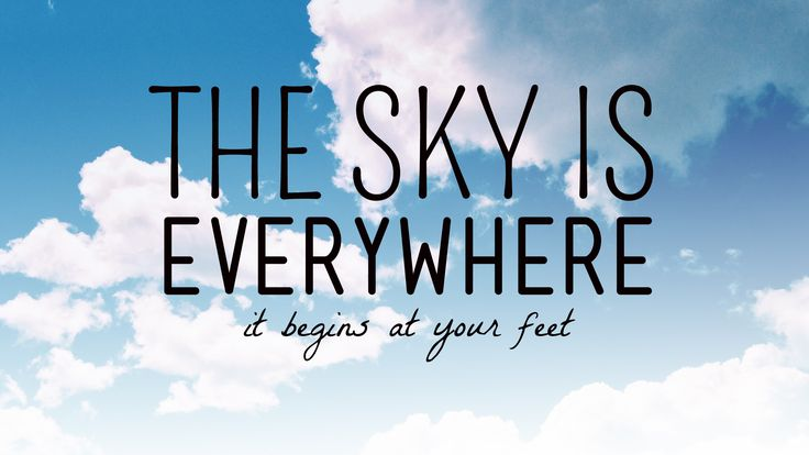 55 Best Images About The Sky Is Everywhere Quotes & Poems