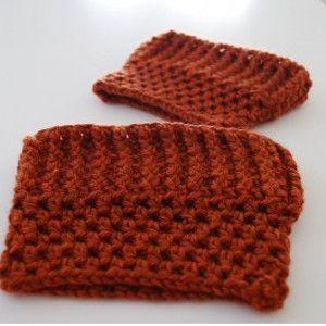 Punky Pumpkin Boot Cuffs - Get pumpkin patch ready with crochet boot cuffs!