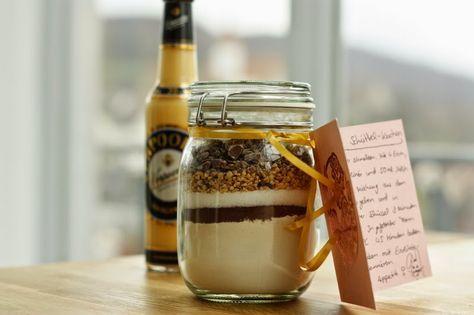 Backmischung im Glas - Eierlikör-Schüttelgugl - Kochliebe