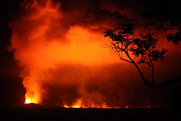 Nyamuragira erupts in the DRC