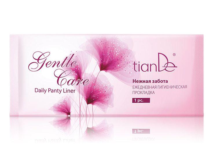 """Εξαιρετικά λεπτα, φυσικά  αρωματισμένα σύγχρονα σερβιετακια, που εκτός από το υπέροχο άρωμα, στοχεύουν, στην υγεία της γυναίκας.  Καθημερινό σερβιετακι, """"Gentle Care"""" από την  tianDe,για την προστασία της υγείας της γυναίκας και όχι του εσώρουχου !"""