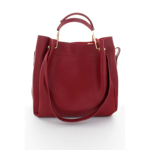 All-In-One Tote Bag in Red