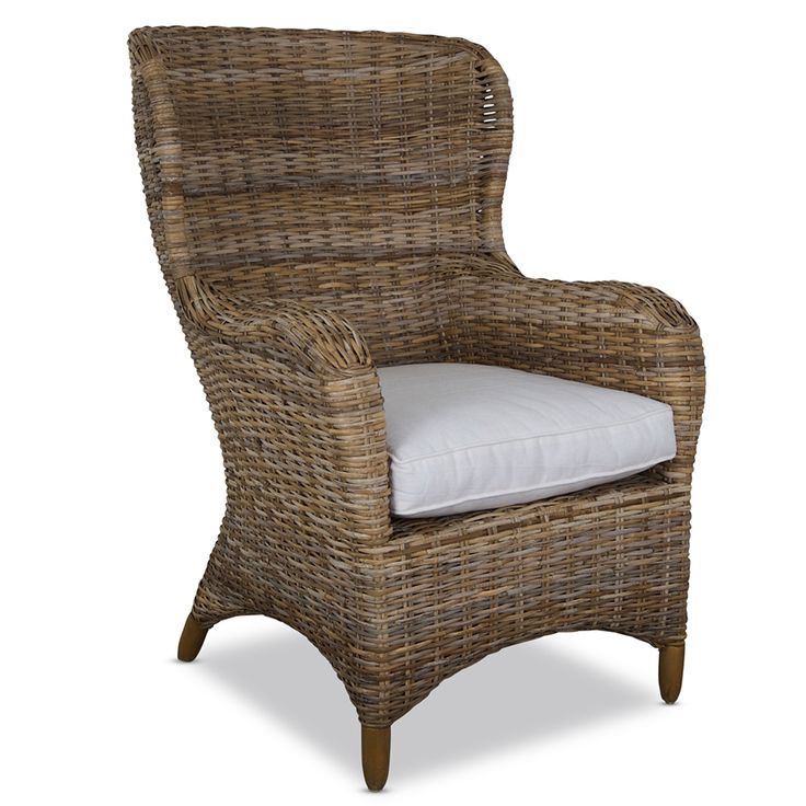 Myami Rattan Wingback Chair