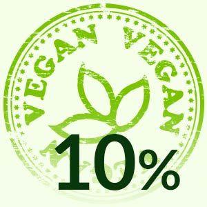 10%-ban tudnál vegán életet élni!