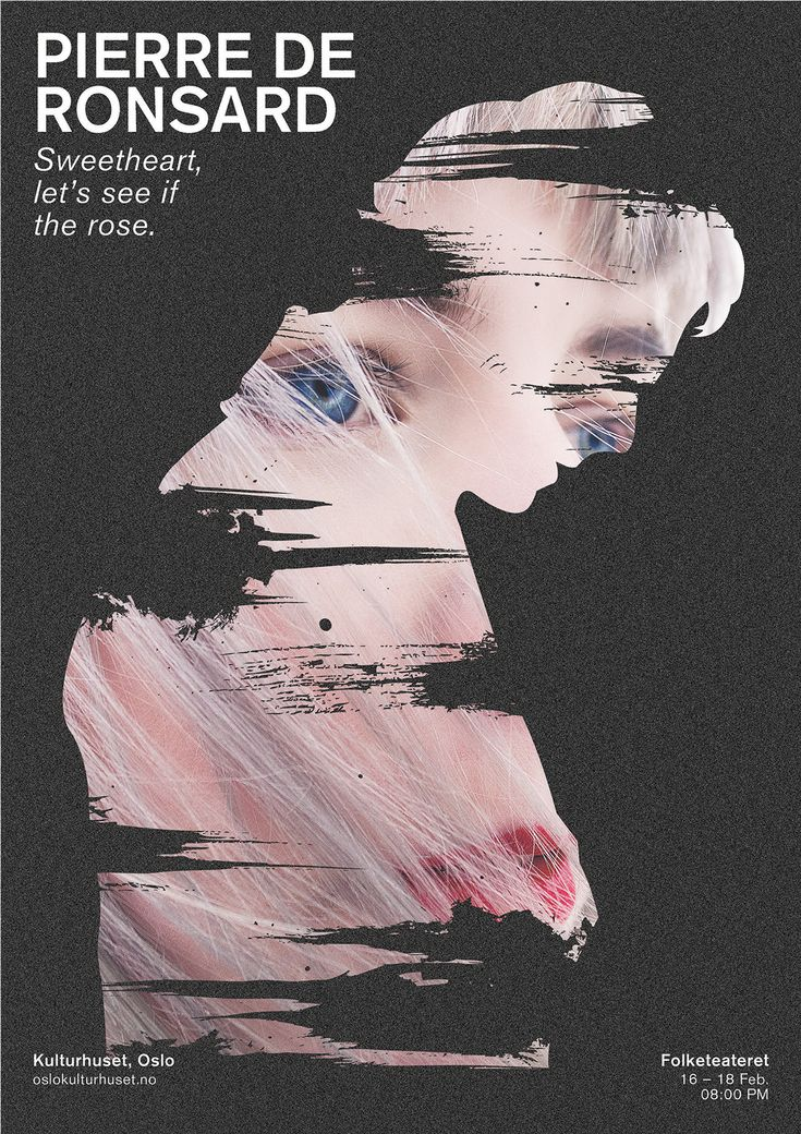 Theatre Poster Design on Behance