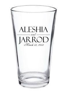 Wedding Favor - Personalized Custom Glass - Pub Pint Glasses From Factory21: Favors Glasses, Wedding Favors, Glasses Pub, Pints Glasses, Custom Beer Glasses Pints, Pub Pints, Favors Personalized, Custom Glasses, Personalized Custom
