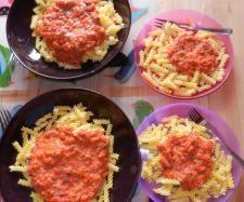Rezept Tomatensoße aus frischen Tomaten von Peace Food - Rezept der Kategorie Saucen/Dips/Brotaufstriche