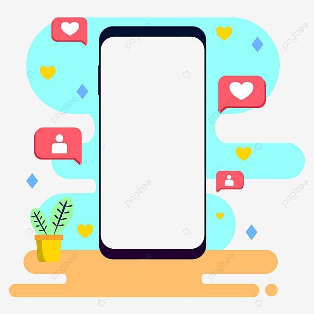 وسائل الاعلام الاجتماعية والتسويق على الانترنت ناقلات بابوا نيو غينيا صورة الهاتف Marketing Icon Marketing Concept Social Media Banner