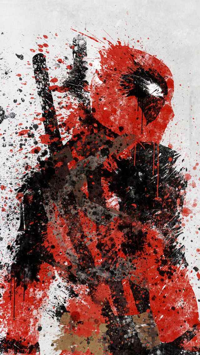 deadpool wallpaper iphone