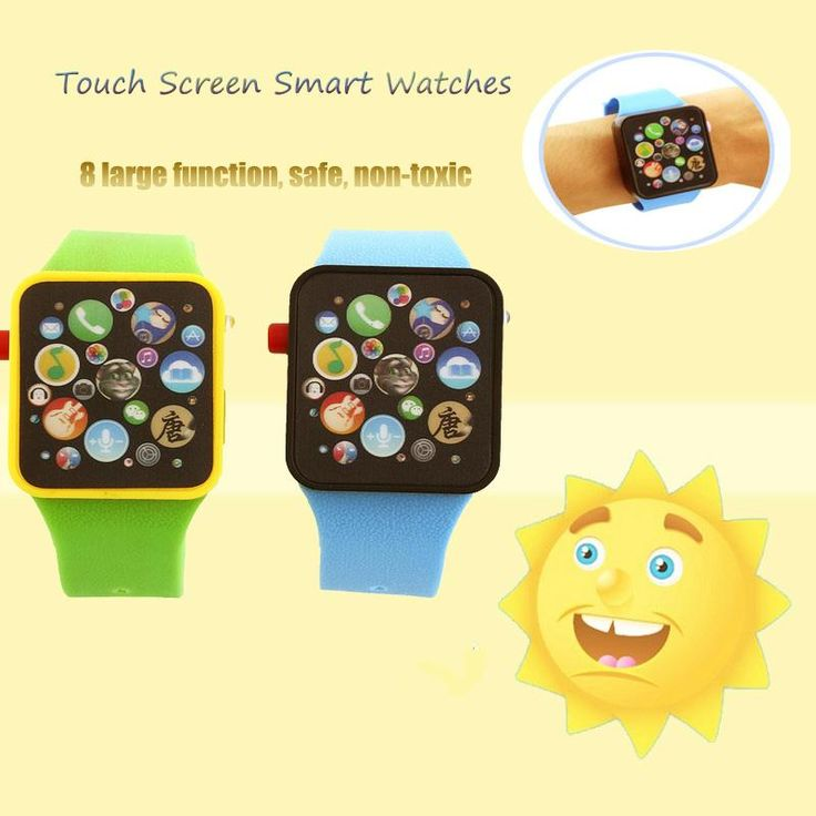 Kids Baby Touch Educational Infant boy/Girl Wrist Watch Sport Bracelet Flash Toy