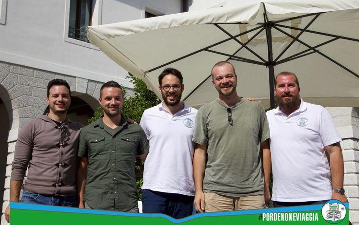 Il sorriso di un traguardo, di un nuovo, costante, inizio (a Pordenoneviaggia con Fabio Liggeri, Francesco Grandis e Alberto Cancian)