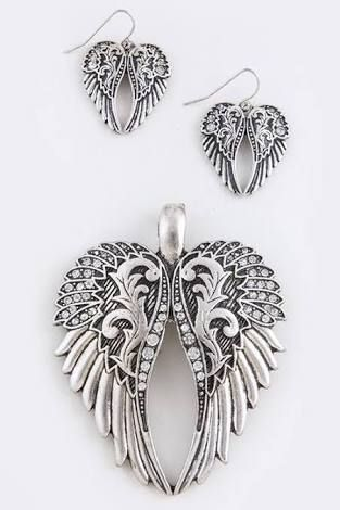 Image result for wings pendant