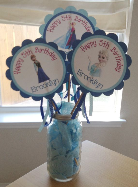 68 best Party Frozen Theme images on Pinterest Birthdays Fiesta