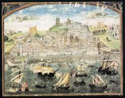 A mais antiga representação de Lisboa (1500–1510) da Crónica de Dom Afonso Henriques, por Duarte Galvão