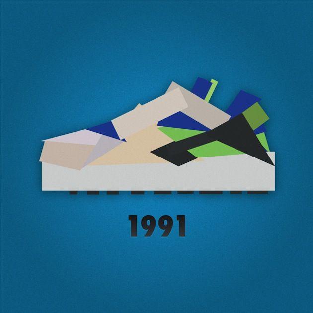 Nike Sneaker Illustrations by Jack Stocker 06