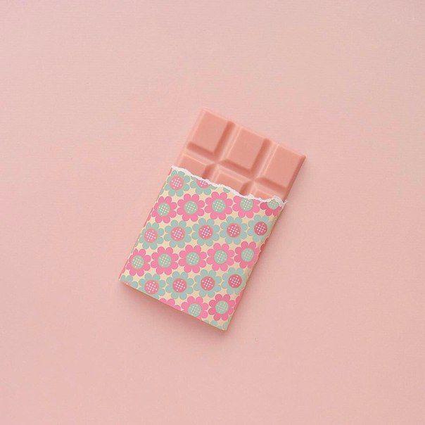 Сюрреализм розовый шоколад #pink