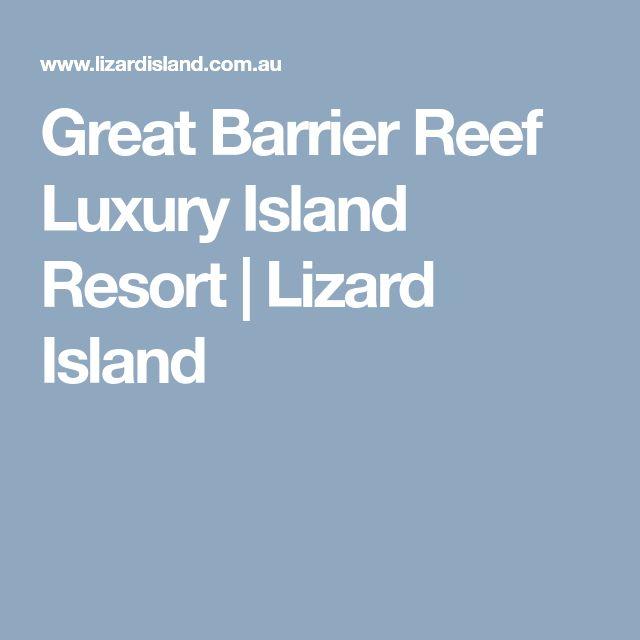 Great Barrier Reef Luxury Island Resort | Lizard Island