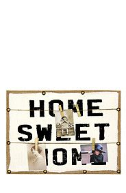 HOME SWEET HOME MEMO BOARD