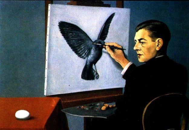"""La storia non è altro che lo sforzo disperato degli uomini di dar corpo ai più chiaroveggenti fra i loro sogni. - Albert Camus - ( Nell'immagine : """" Chiaroveggenza """" di Magritte )"""