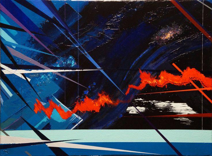 'Dream Away', oil on canvas, 30.5 x 40.5cm. www.jeremyelkington.weebly.com