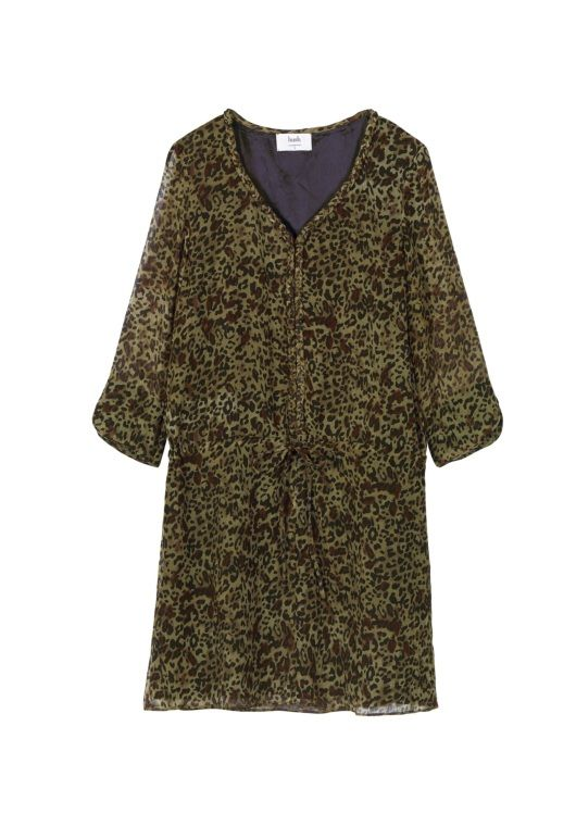 Plait Dress - Animal Print | Day Dresses - Casual, Chic Daywear from hush | [filters] Women's Daywear & Casual Clothing | Womenswear from Hush
