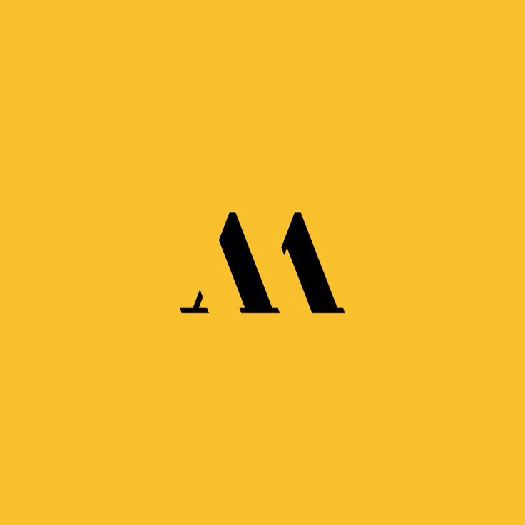 My new AM ligature personal branding.