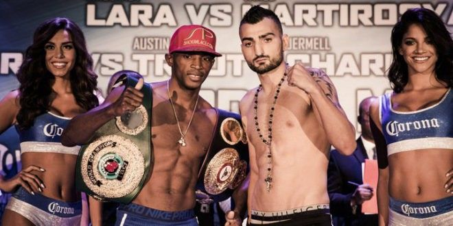 Three fights, three titles on the line. Tonight Showtime Boxing gives us three and half hours of leg