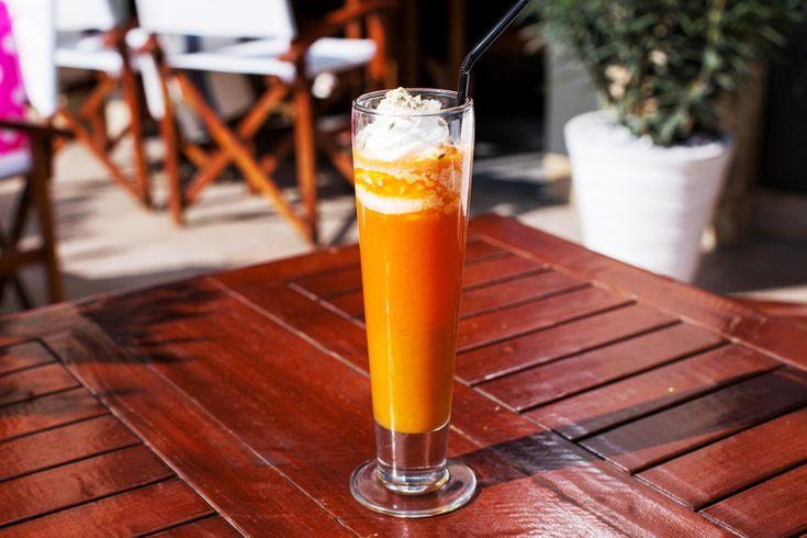 3. Морковь + кокосовые сливки + семечки
