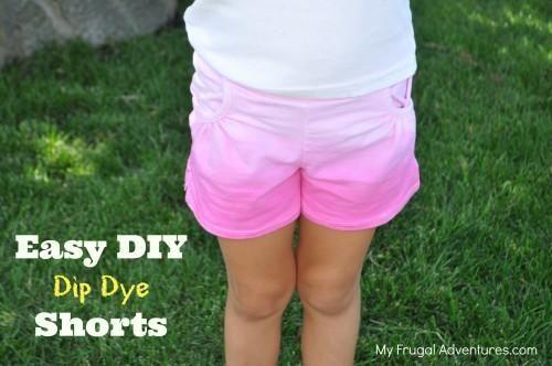 DIY Dip Dye  : DIY Dip Dye Childrenâ??s Clothing : DIY Clothes DIY Refashion