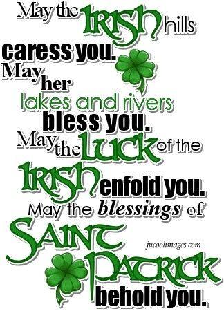 .Irish blessing