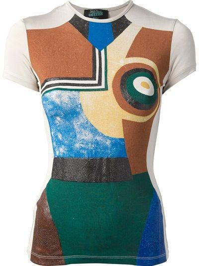 JEAN PAUL GAULTIER VAULT Richard Linder T-Shirt