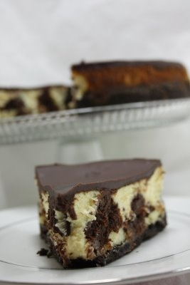 Brownie Mosaic Cheesecake As seen on Annie's Eats and Brown Eyed Baker ...