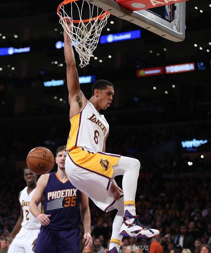 Jordan Clarkson #NBAVOTE by lakers