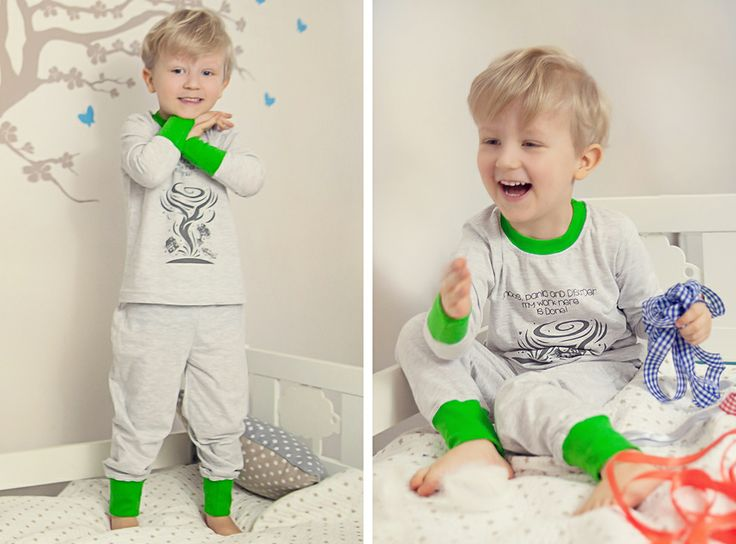 """Longsleeves and long pants for long and cold nights! Little Mr Tornado! """"Chaos, panic and disorder- my work here is done!"""" :)"""
