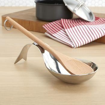KSP Gourmet Jumbo Spoon Rest (Stainless Steel)  2