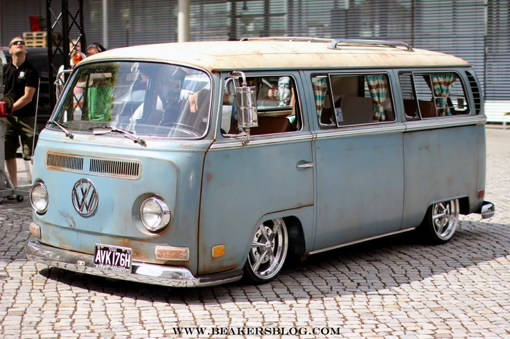 Slammed Vw bus | Vw Buses & Trucks | Pinterest | Buses, Vw bus and Slammed