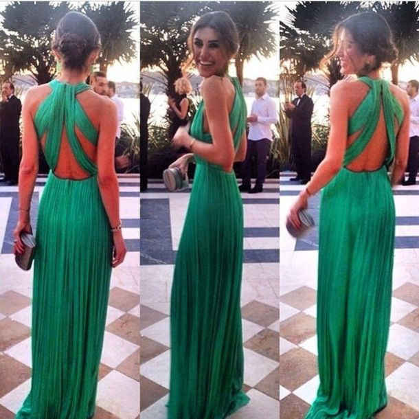 Sexy Open Back Dresses For Wedding Guest