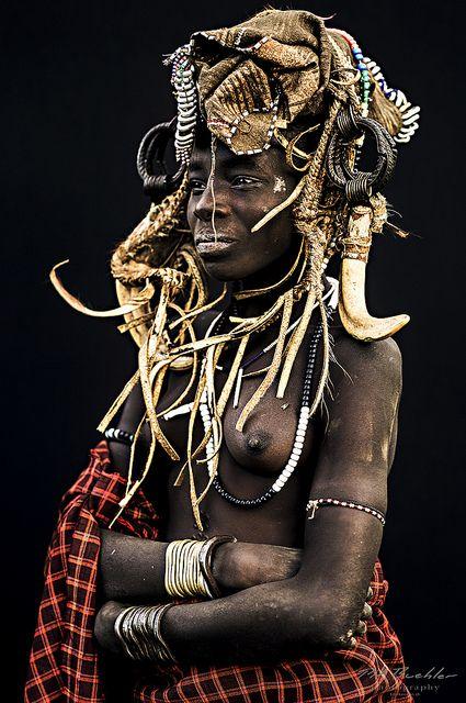 Mursi Tribe. Ethiopia