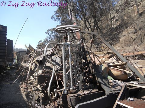 Whats left of the VAM b | by zigzagrailway@yahoo.com.au