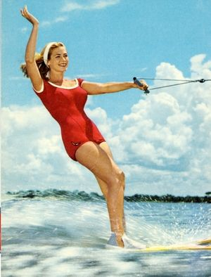 Vintage Water Skiing 98