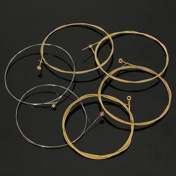 95cm Guitar Steel Bronze Strings Acoustic 60XL 0.010