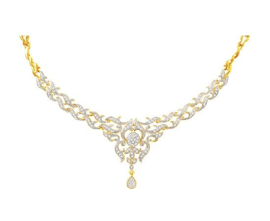 Vce ne 25 nejlepch npad na pinterestu na tma real diamond accentuate your beauty with the brightness of this 18kt gold necklace that has mozeypictures Gallery
