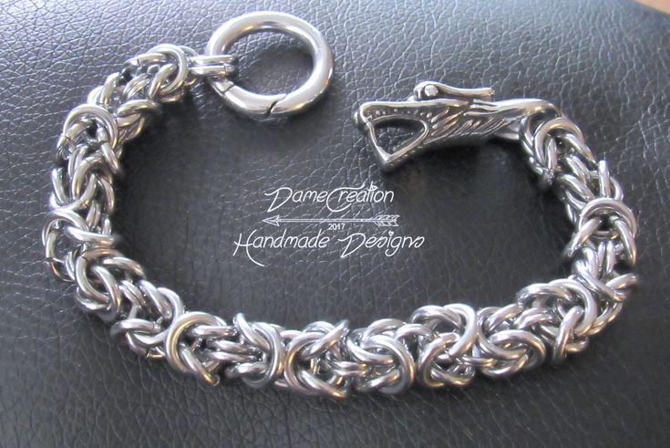 A personal favorite from my Etsy shop https://www.etsy.com/listing/568592614/dragon-jewelry-bracelet-dragon-bracelet