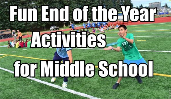 Fun end of the year activities for your middle school students!