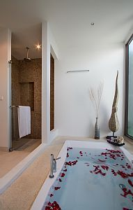 Rose petals add romance to your Kata, Thailand holiday rental
