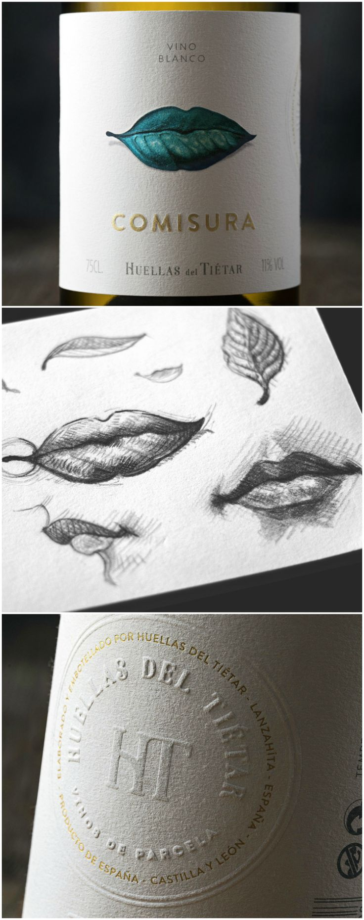 Brand and Packaging Design for New Winery in Sierra de Gredos, Spain